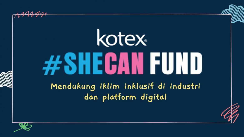 Logo Kotex She Can Fund Indonesia