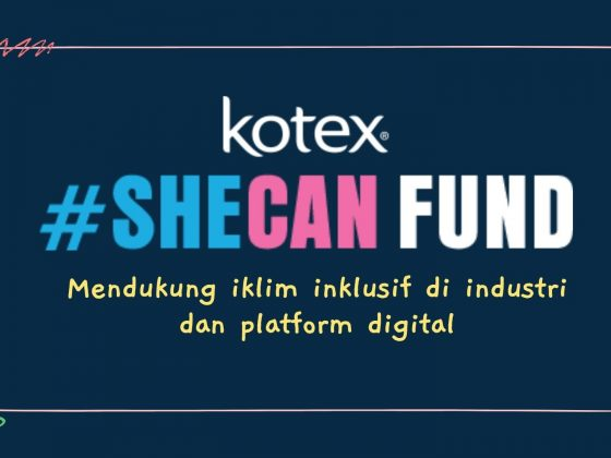 Logo Kotex She Can Fund Indonesia